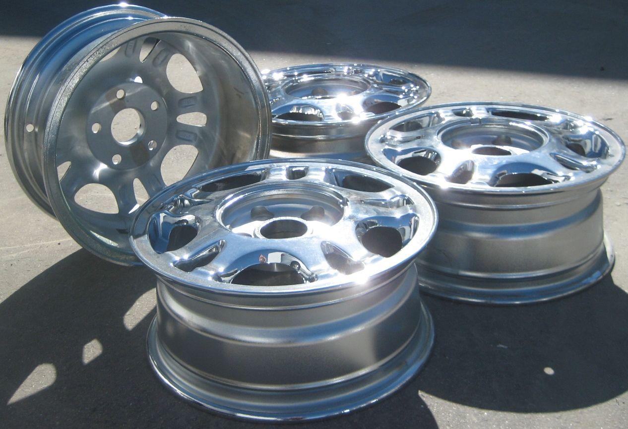 FACTORY TOYOTA CAMRY SIENNA ES300 OEM CHROME WHEELS RIMS   SET OF 4