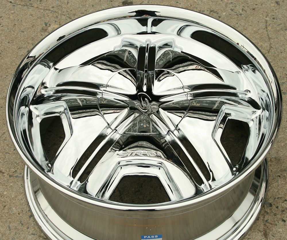 Strada Cambio 20 Chrome Rims Wheels Lincoln Navigator 20 x 8 5 6H 20