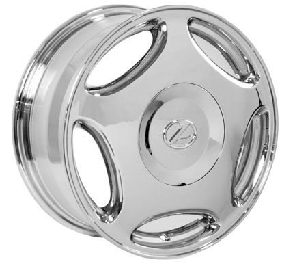 16 Chrome LS Style Wheels Set Rims Fit Lexus