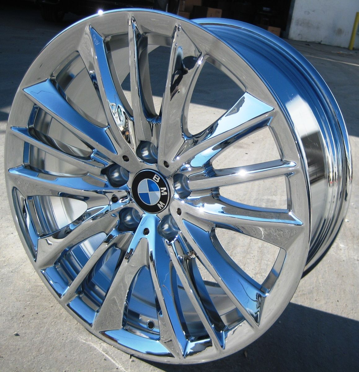 FACTORY BMW 550xi 528i 535i 550i OEM CHROME WHEELS RIMS STYLE # 332